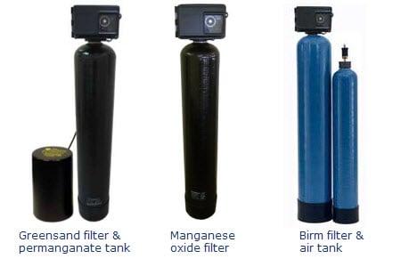 Birm Greensand MangOX iron filters