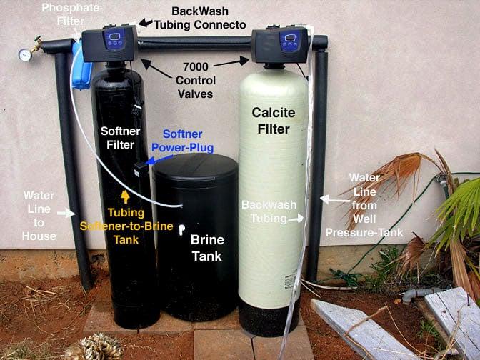 Fleck 7000 Neutralizer & Water Softener