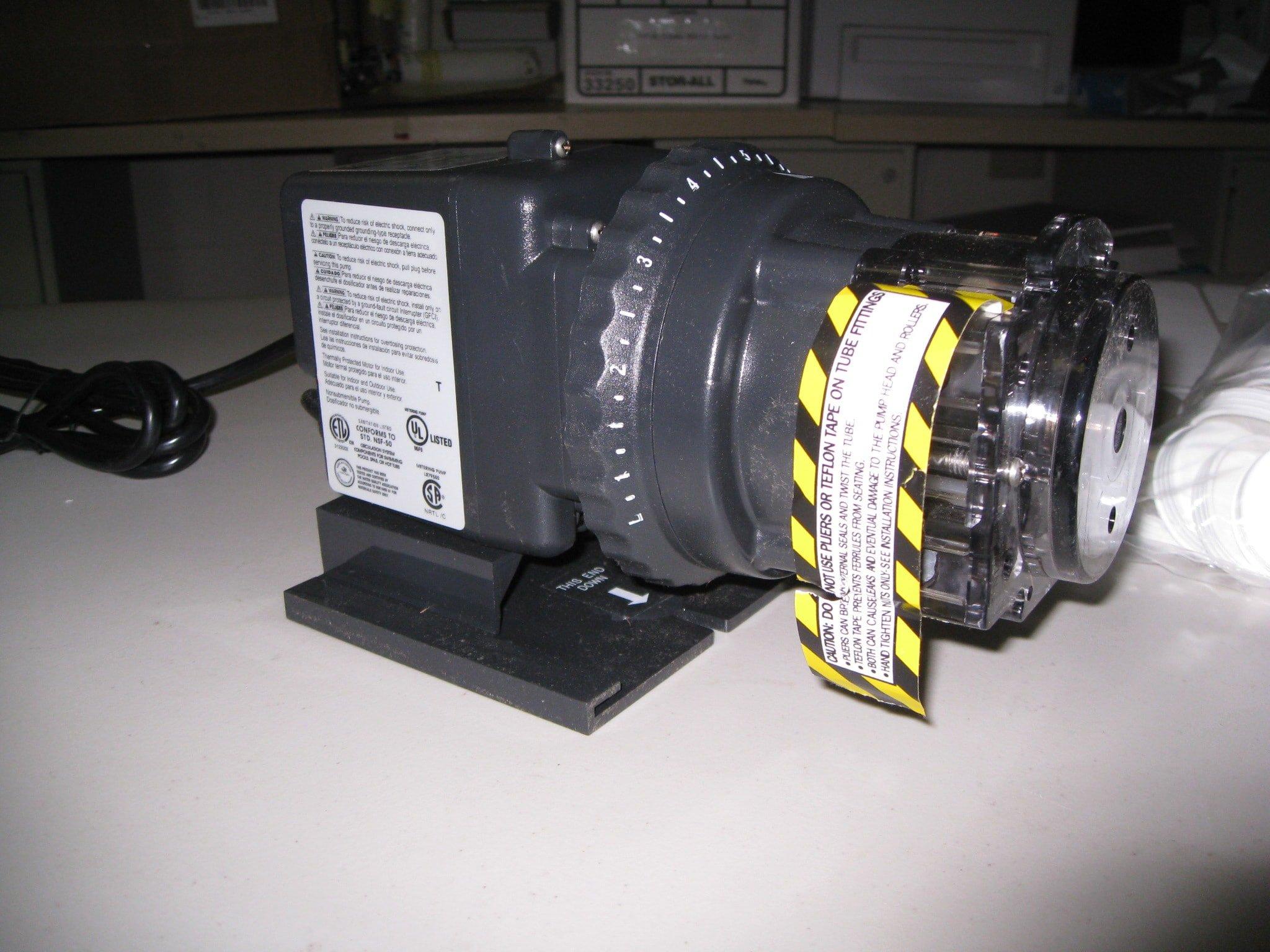 Stenner Peroxide Injector Pump