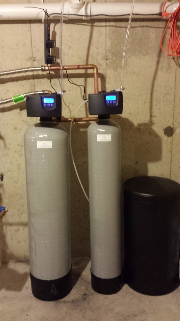 Softener 7000-SXT and Carbon Filter 7000