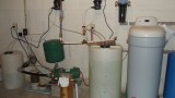 45MHP2 Stenner Metering Pump w/ 35 gal tank and 45MHP10 Stenner Metering Pump w/ 15 gal tank