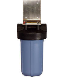 big blue filter cartridge housing