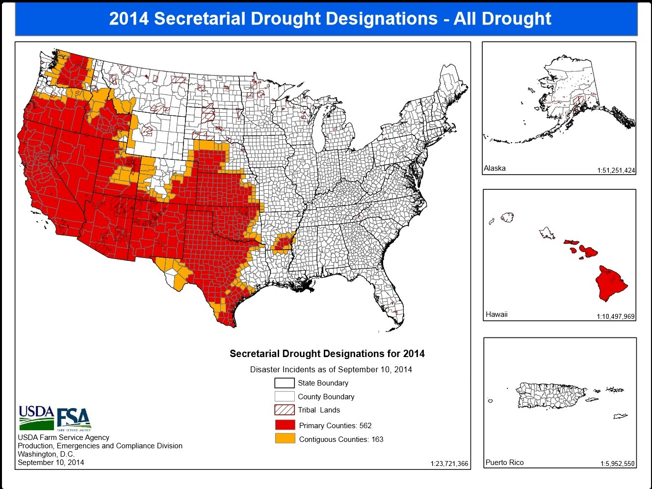 USDA Drought