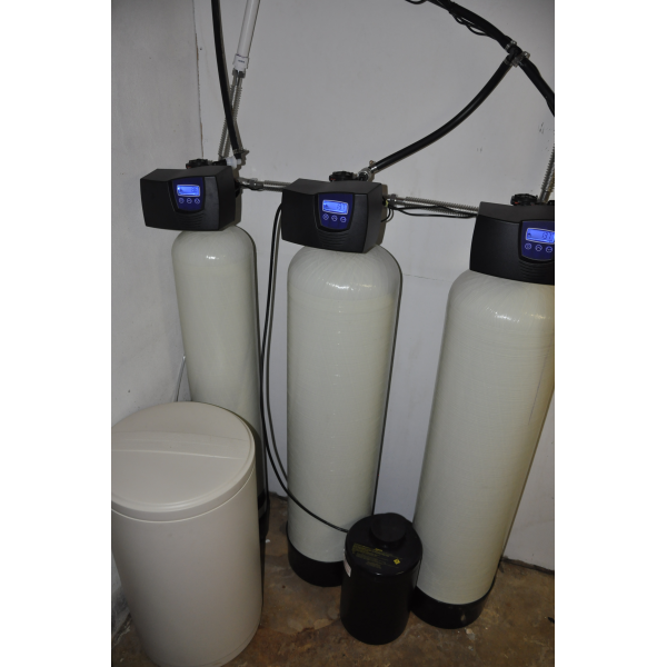 The acid neutralizer,green sand tanks, and softener work perfectly!