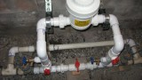 dry pellet chlorinator for well water