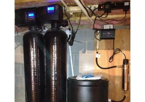 How Do I Install A Carbon Backwash Filter and a Water Softener In Series?