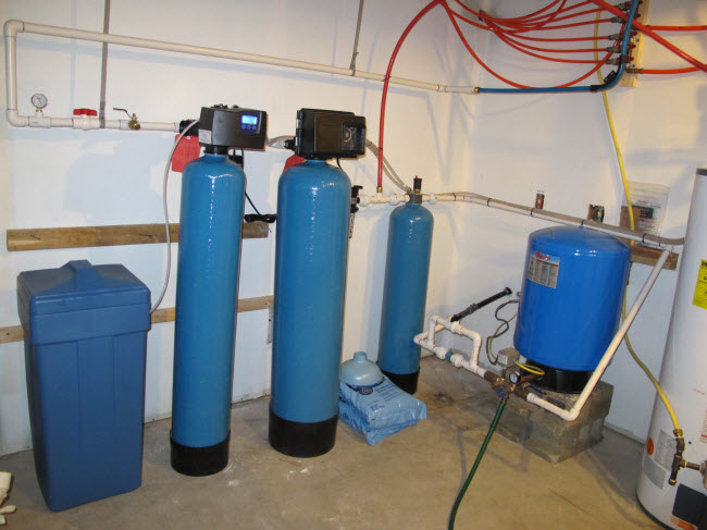 Terminator Iron Filter And Softener For Well Water