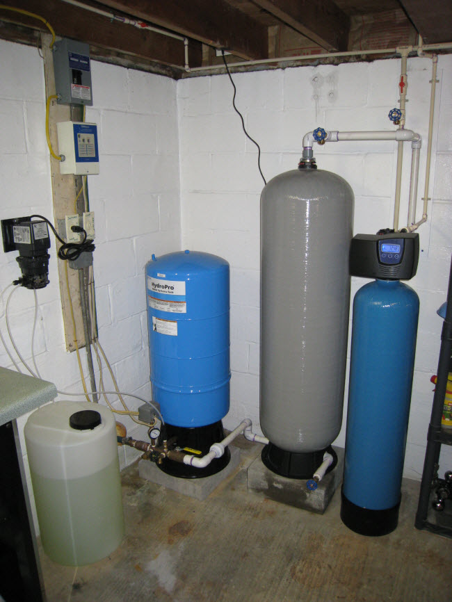 Well Water Chlorinator And Whole House Carbon Filtration
