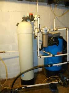 upflow neutralizer system