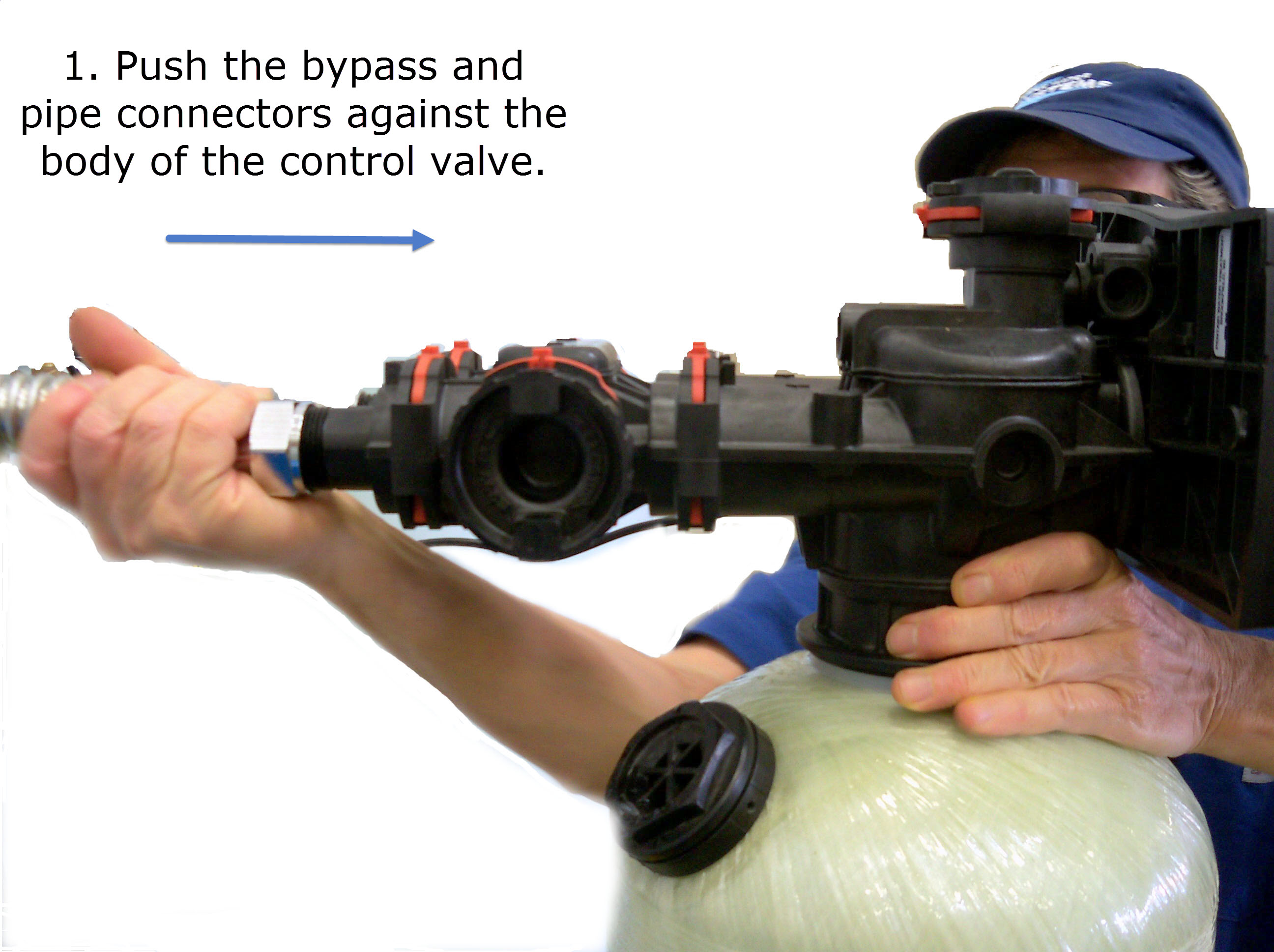 How to Remove Red Clips from Fleck 7000 Control Valves Without Breaking Them