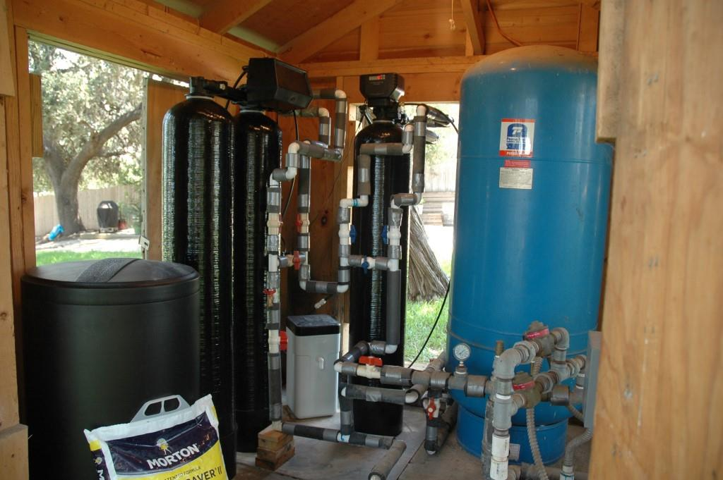 After installation of the Water Softener and Iron Filter system, it's the Cleanest Water We Ever Had!
