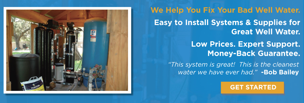 Well Water Treatment Systems Amp Filters Clean Water Store