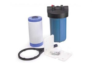 whole house filter with refillable cartridge