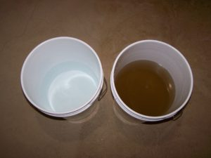 manganese dioxide filter media water
