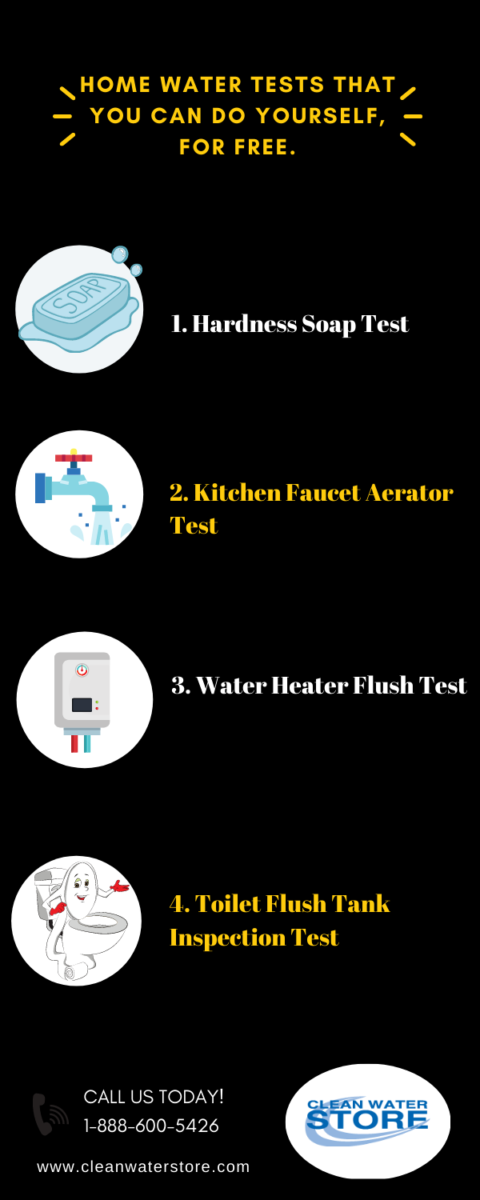 Home Water Tests That You Can Do Yourself Infographics
