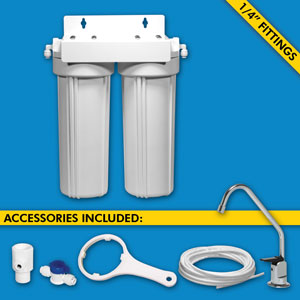 H2O Filter 1 to 3 Stage Systems