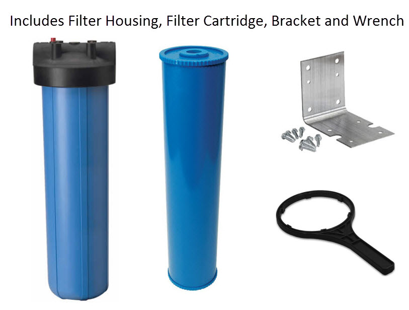 Whole House Fluoride Filter 2 to 10 GPM