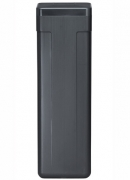 "Brine tank: 11"" x 11"" x 38"" Black 2310 Safety Float 156# Salt"