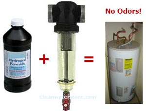 water heater odor killer