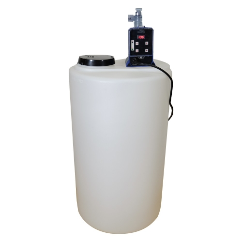 Chlorinator Well Water Package J-PRO-22 + 15 Gal  Solution Tank