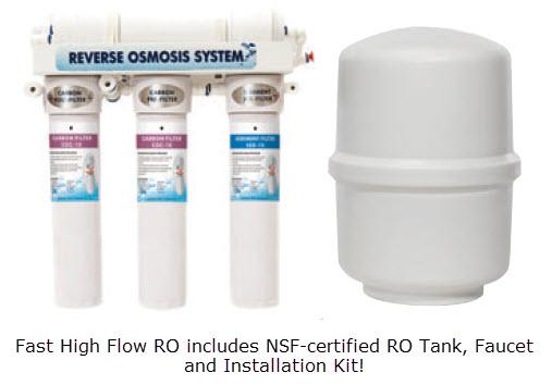 Pro Grade 75 Gallon Per Day RO System