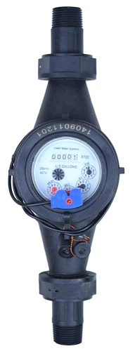 CWS Pulse Water Meter w/ Reed Switch 1""