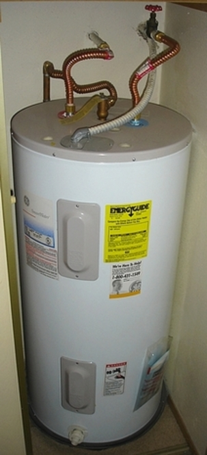 How to eliminate water heater odors residential well for Plastic hot water tank