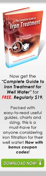 how to treat iron in well water guide