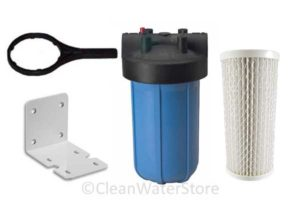 bacteria in well water filter cartridge