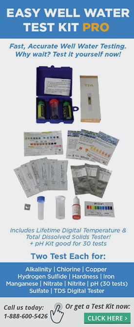 Easy Well Water Test Kit